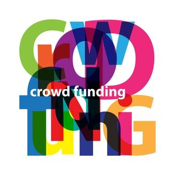 Vector Crowdfunding. Broken text