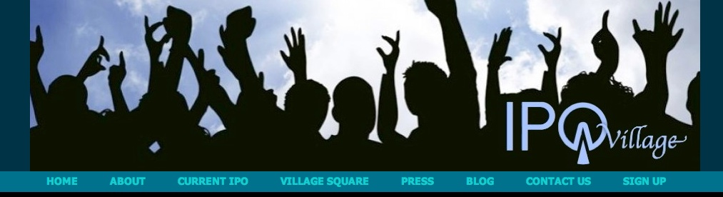 @CBCNews Update on IPOVillage for First Ever Equity-Based Crowdfunded IPO – It's All in The Wording
